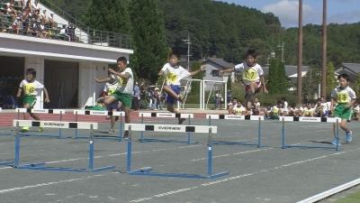 南丹市小学生陸上運動交歓記録会