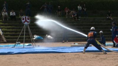 南丹市消防団操法大会