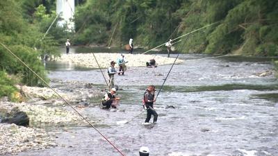 友釣り競技大会