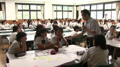 園部高校附属中地域医療の現状を学ぶ