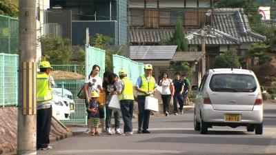 夏の交通事故防止府民運動街頭啓発