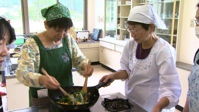 女性会健康料理教室