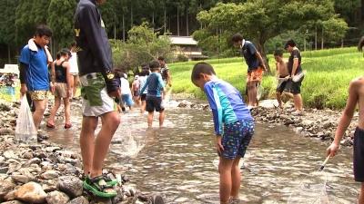 美山山村留学センター夏の体験留学