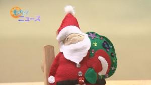 女性の館クリスマスグッズ作り