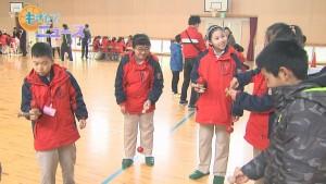190124胡麻郷小学校中国西安市小学校児童が来校00000000